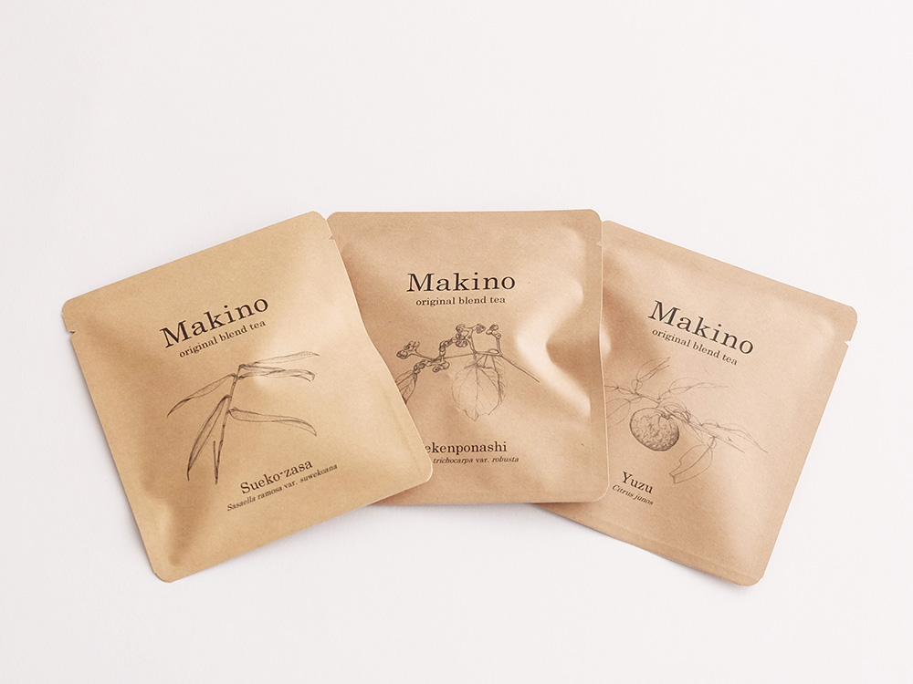 Makino original blend tea登場